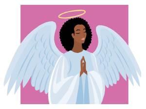 Angel Praying 2