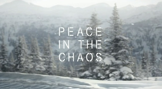 Image result for peace in the midst of chaos
